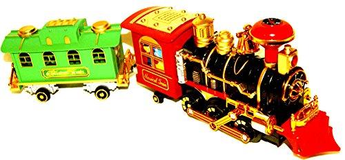 Spielzeug eisenbahn lokomotive lok train zug mit anhänger