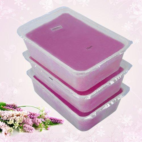 Paraffin Wachs Block Lavendel