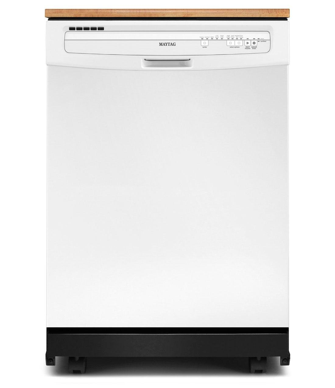 Maytag MDC4809PAW JetClean Portable Full Console Dishwasher