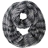Luxury Divas Ombre Knit Infinity Scarf