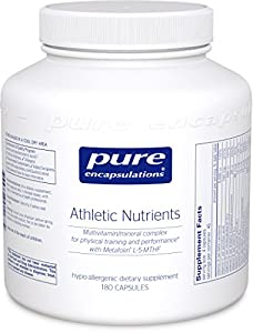 Pure Encapsulations - Athletic Nutrients - 180ct