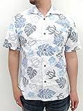 (マルカワジーンズパワージーンズバリュー) Marukawa JEANS POWER JEANS VALUE アロハシャツ 綿裏使い 14color L サックス