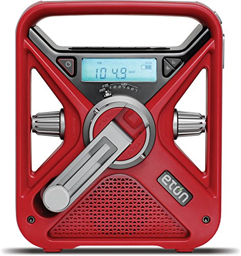 Red Cross Hand Crank Weather Radio