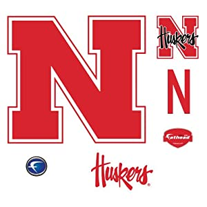 Nebraska Cornhuskers Logo Wall Decal by Fathead