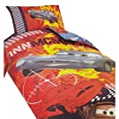 Childrens/Kids Disney Cars 2 Reversible Quilt/Duvet Cover Bedding Set