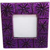 Handmade Photo Frame Indian Vintage Style Lac Beaded Material Table Top Picture Frame Decorative Home Decor Antique...