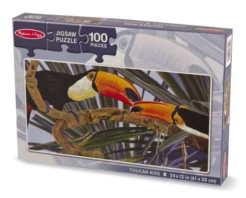 Melissa & Doug Toucan Kiss Jigsaw Puzzle 100 Piece