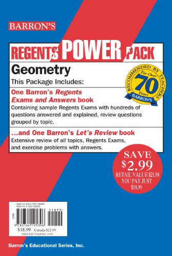 Geometry Power Pack (Regents Power Packs)