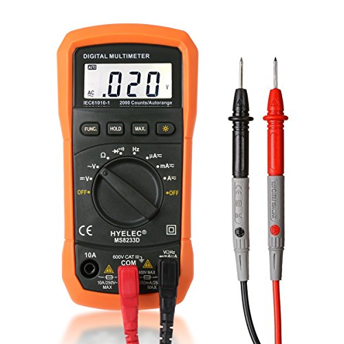 Multimeter For Home : Digital multimeter crenova ms d auto ranging