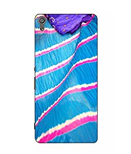 Make My Print Printed Multicolor Hard Back Cover For Sony Xperia XA Dual