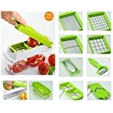 New 12 PC Super Slicer Plus Vegetable Fruit Peeler Dicer Cutter Chopper Nicer Grater By N/A