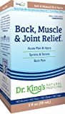 Dr. King's Natural Medicine Back, Muscle and Joint Relief, 2 Fluid Ounce