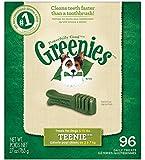 Greenies Dental Chews for Dogs, Teenie Pack, 96 Chews