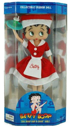 """12"""" Car Hop Betty Boop Fashion Doll"""