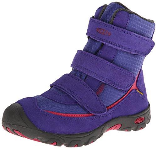 KEEN Trezzo WP Youth Snow Boot ,Orient Blue/Cerise,2 M US Li
