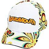 LOUDMOUTH(ラウドマウス) 速乾 軽量 ゴルフ キャップ 1702-401s 003 シャガデリック ホワイト