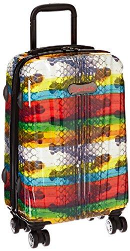 carlos-falchi-rio-21-inch-wheeling-carryon-rainbow-snake-one-size