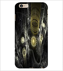 PrintDhaba Digital design D-2187 Back Case Cover for APPLE IPHONE 6 (Multi-Coloured)