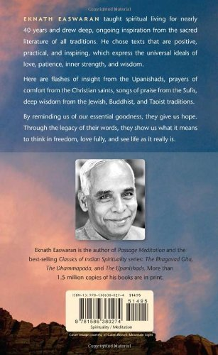 Timeless Wisdom: Passages for Meditation from the World's Saints & Sages: 0 (Essential Easwaran Library)