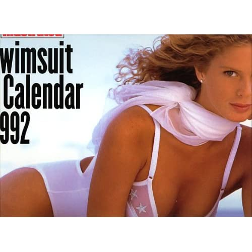 Sports Illustrated 1992 Swimsuit Calendar Rachel Hunter cover: Sports