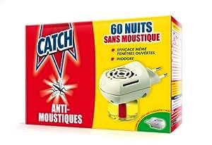 Catch - 11411 - Diffuseur Electrique Anti-Moustiques - 60 Nuits