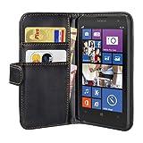 PEDEA Wallet Flip Case for Nokia Lumia 1020 - Black