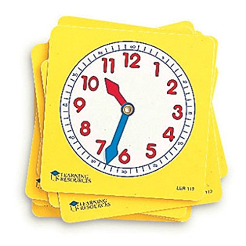 Learning Resources Pupil Clock Dials