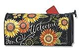 MailWraps Sunflower Chalkboard Mailbox Cover 02771
