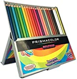 "Prismacolor ""Colores"" 24 Pre-Sharpened Colored Pencils. Spanish Edition."