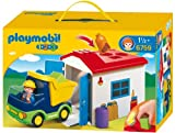 Toy - PLAYMOBIL 6759 - LKW mit Sortiergarage