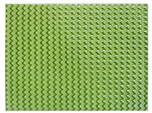 I Style My Home Zig Zag Green Placemats