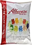 Albanese Flavor Gummy Bears, 5 Pound