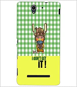 PrintDhaba Quote D-3642 Back Case Cover for SONY XPERIA C3 (Multi-Coloured)