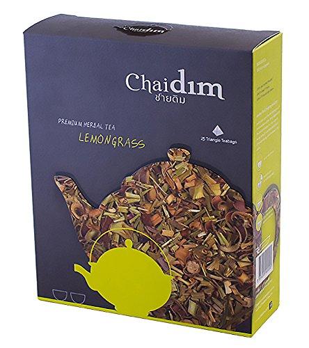 Chaidim Premium Organic Herbal tea 25 teabags (Lemongrass) (Dragon Ball Energy Drink compare prices)