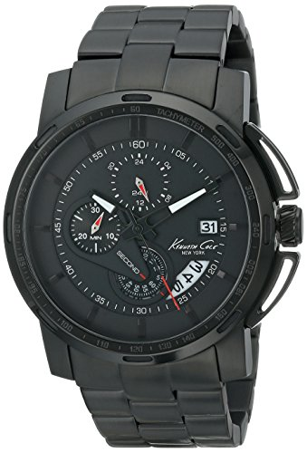 Kenneth Cole New York Chronograph Stainless Steel - Black Men's watch #KC9331