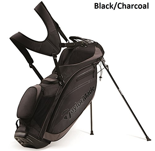 TaylorMade TourLite Stand Bag, Black/Charcoal (Taylormade Purelite Stand Bag compare prices)