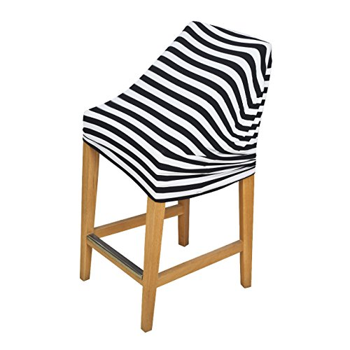 Baby Car Seat Cover, Newcomdigi Baby Car Seat Canopy Nursing Cover Scarf Breathable Canopy Stretchy Shopping Cart Cover for Boys Girls Infant Toddler (Black Stripes) (Infant Car Seat Cover Girl compare prices)