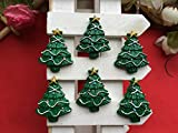 33*26mm. 20pcs/lot Resin Hot Selling Christmas Set, Resin Christmas Tree Flatback Cabochon for Hair Bow Center, DIY