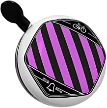 Bicycle Bell Pink horizontal stripe design  pattern by NEONBLOND