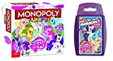 My Little Pony - Junior Monopoly & Top Trumps - Combo Deal