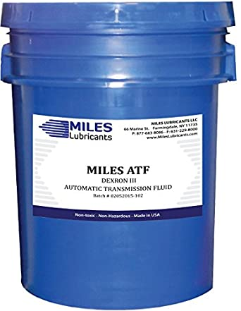 miles atf automatic transmission fluid dexron iii 5 gal. Black Bedroom Furniture Sets. Home Design Ideas