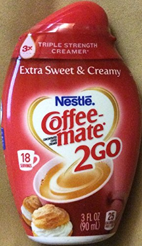 Nestle Coffee-Mate 2Go, Extra Sweet & Creamy 2.94 Oz (Pack Of 4)