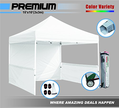 Eurmax-Premium-10×10-Ez-Pop-up-Tent- & Eurmax Premium 10×10 Ez Pop up Tent Outdoor Canopy Craft Display ...