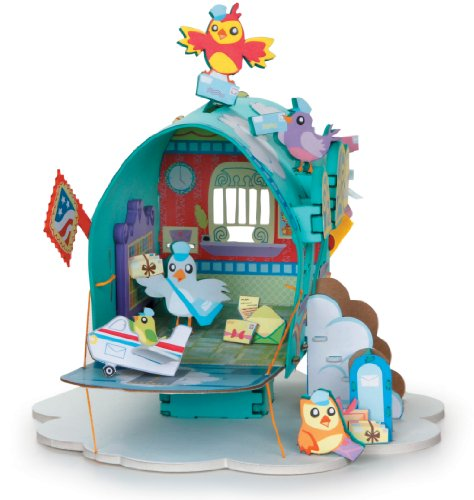 3-D Playtown Creativity Kits: Feathered Friends Post Office - 1
