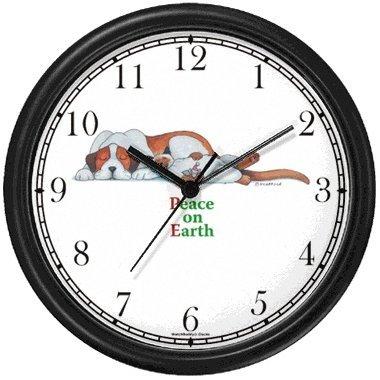 Peace on Earth Sleeping Brown & White Dog & Cat Cartoon or Comic JP Animal