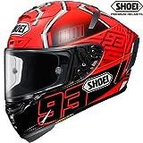 SHOEI ショウエイ/X-Fourteen MARQUEZ4/エックス - フォーティーン マルケス4/フルフェイスヘルメット カラー:TC-1(RED/BLACK) サイズ:XL(61cm~62cm)
