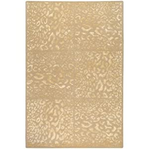 Surya CAN-1944 Modern Classics Contemporary Area Rug, 9-Feet by 13-Feet, Coral