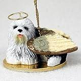 Old English Sheepdog Angel Figurine