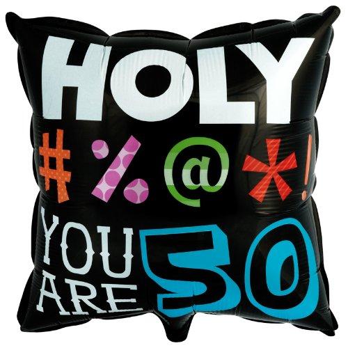 Holy Bleep 50 - Foil Balloon - 1