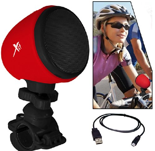 Bluetooth Bicycle Speaker W/ Microphone And Mount. For All Amazon Kindle, Hd Fire, Tablets &More Digital Devices. Mounts On Baby Stroller And Scooter As Well.